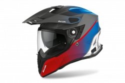 AIROH KASK INTEGRALNY COMMANDER PROGRESS RED/BLUE