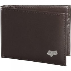 PORTFEL FOX BIFOLD LEATHER BROWN