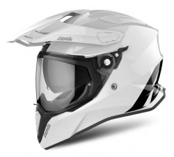 KASK INTEGRALNY AIROH COMMANDER COLOR WHITE GLOSS