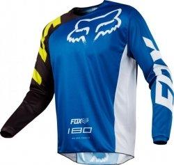 BLUZA FOX 180 RACE BLUE