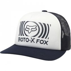 CZAPKA Z DASZKIEM FOX LADY GOOD TIMER TRUCKER WHITE