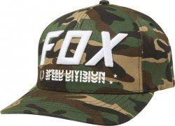 FOX CZAPKA Z DA. TRIPLE THREAT FLEXFIT GREEN CAMO