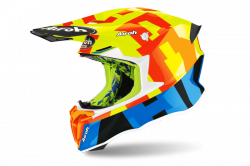 AIROH KASK OFF-ROAD TWIST 2.0 FRAME YELLOW GLOSS