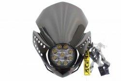 Acerbis Lampa reflektor przód LED Fulmine czarny