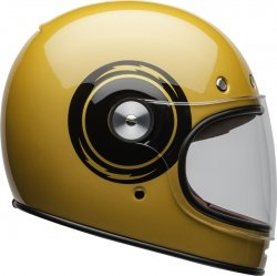 BELL KASK INTEGRALNY BULLITT DLX BOLT YELLOW/BLACK