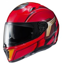 HJC KASK INTEGRALNY I70 THE FLASH DC COMICS RED