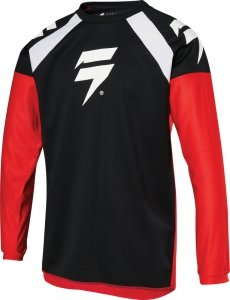 SHIFT BLUZA OFF-ROAD JUNIOR WHIT3 RACE RED/BLACK