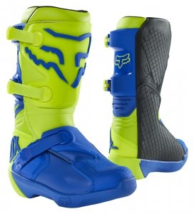 FOX BUTY OFF-ROAD JUNIOR COMP YELLOW/BLUE