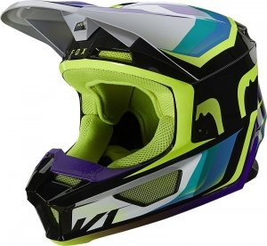 FOX KASK OFF-ROAD V-1 TRO AQUA