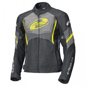 HELD KURTKA TEKSTYLNA BAXLEY TOP BLACK/FLO YELLOW
