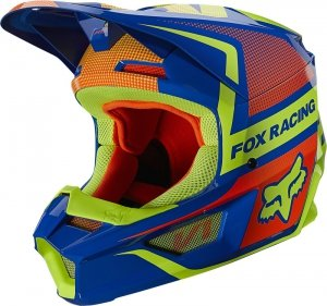 FOX KASK OFF-ROAD JUNIOR V-1 OKTIV BLUE