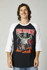 FOX T-SHIRT BACKSTAGE BLACK/WHITE