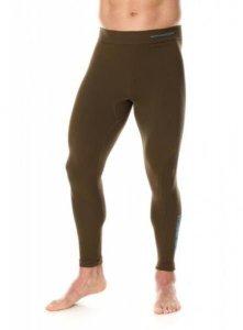Brubeck LE11840 Spodnie męskie THERMO z długą nogawką khaki