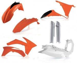 Acerbis KTM pełny zestaw plastików EXC: 12-13