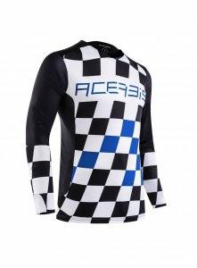 Acerbis bluza off-road Start & Finish MX niebieski