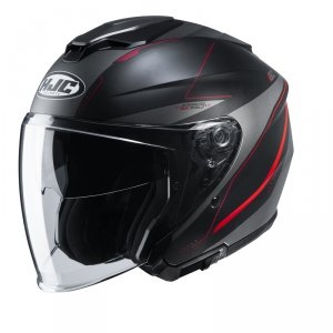HJC KASK OTWARTY I30 SLIGHT BLACK/RED
