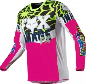 FOX BLUZA OFF-ROAD 180 HERITAGE VENIN PINK