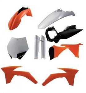 Acerbis KTM pełny zestaw plastików SX / SXF: 11-12