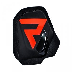REBELHORN SLIDERY KOLAN  (NA RZEPY) BLACK/FLO RED