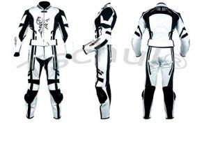 Kombinezon 2 częściowy damski TSCHUL 187 biało-czarny