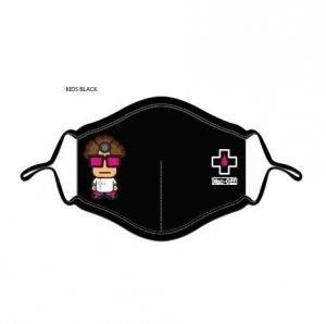 Muc-Off Maska higieniczna Kids Black