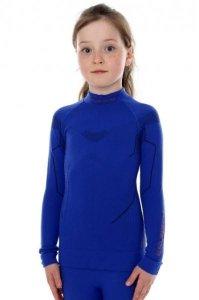 Brubeck LS13650 Bluza damska THERMO Junior kobaltowy