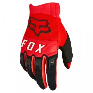 FOX RĘKAWICE OFF-ROAD DIRTPAW FLUORESCENT RED