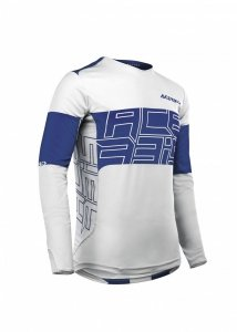 Acerbis bluza off-road Linear MX biało-niebieska