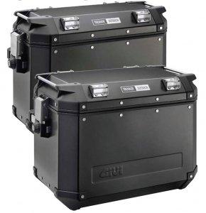 Kufry boczne Givi OBK48B Czarne 2 SZTUKI Outback