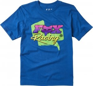 FOX T-SHIRT JUNIOR QUALIFIER ROYAL BLUE