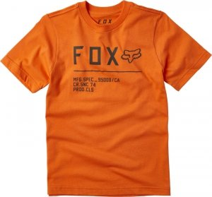 FOX T-SHIRT JUNIOR NON STOP ORANGE FLAME