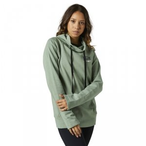 FOX BLUZA LADY CLEAN UP PULLOVER SAGE