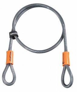 KRYPTONITE LINKA KRYPTOFLEX 410 DOUBLE LOOPED CABL