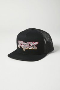 FOX CZAPKA JUNIOR CORKSCREW SNAPBACK BLACK