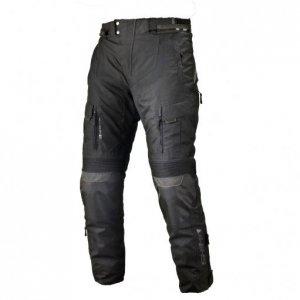 SHIMA RIFT BLACK Spodnie tekstylne