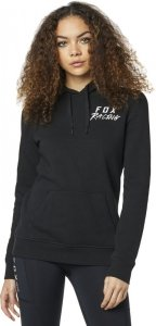 FOX BLUZA LADY Z KAPTUREM LAPPED BLACK
