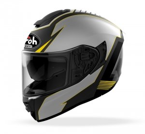 AIROH KASK INTEGRALNY ST501 TYPE YELLOW MATT