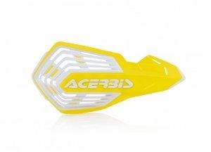 Acerbis Handbary X-FUTURE żółto - biały