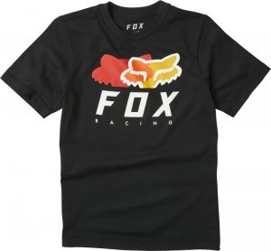 FOX T-SHIRT JUNIOR CHROMATIC BLACK