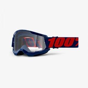 100 PROCENT GOGLE MODEL STRATA 2 MASEGO GRAN CLEAR