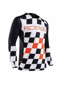 Acerbis bluza off-road Start & Finish MX pomarańcz