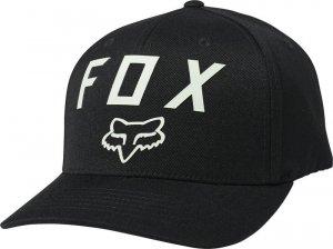 FOX CZAPKA Z DASZKIEM NUMBER 2 FLEXFIT BLACK/GREEN