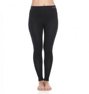 BRUBECK spodnie ACTIVE WOOL damskie czarny