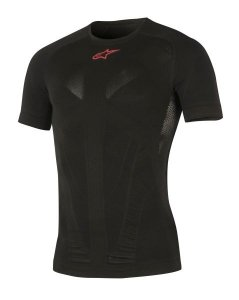 ALPINESTARS Koszulka termoak  MX TECH czarny/czerw