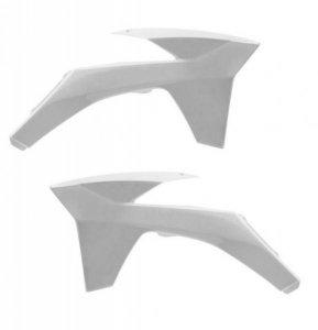 Acerbis KTM boki od chłodnicy SX / SXF / EXC biały