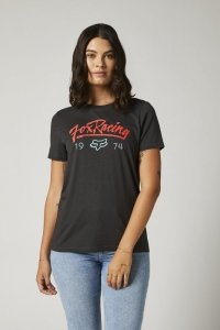 FOX T-SHIRT LADY CENTER STAGE BF BLACK VINTAGE