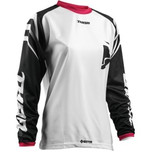 THOR BLUZA WOMENS SECTOR ZONES BLACK/PINK =$