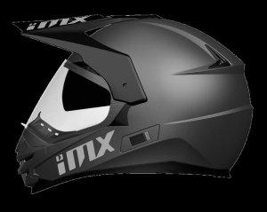 IMX KASK OFF-ROAD MXT-01 PINLOCK READY MATT BLACK