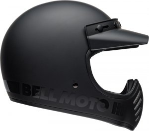 BELL KASK OFF-ROAD MOTO-3 BLACKOUT MATT/GLOSS BLAC