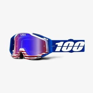 100 PROCENT GOGLE RACECRAFT ANTHEM NIEBIESKI/B/CZE